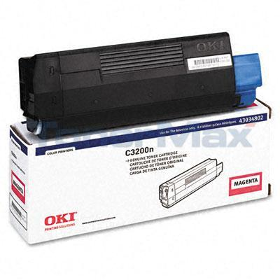 OKIDATA C3200 TONER CARTRIDGE MAGENTA